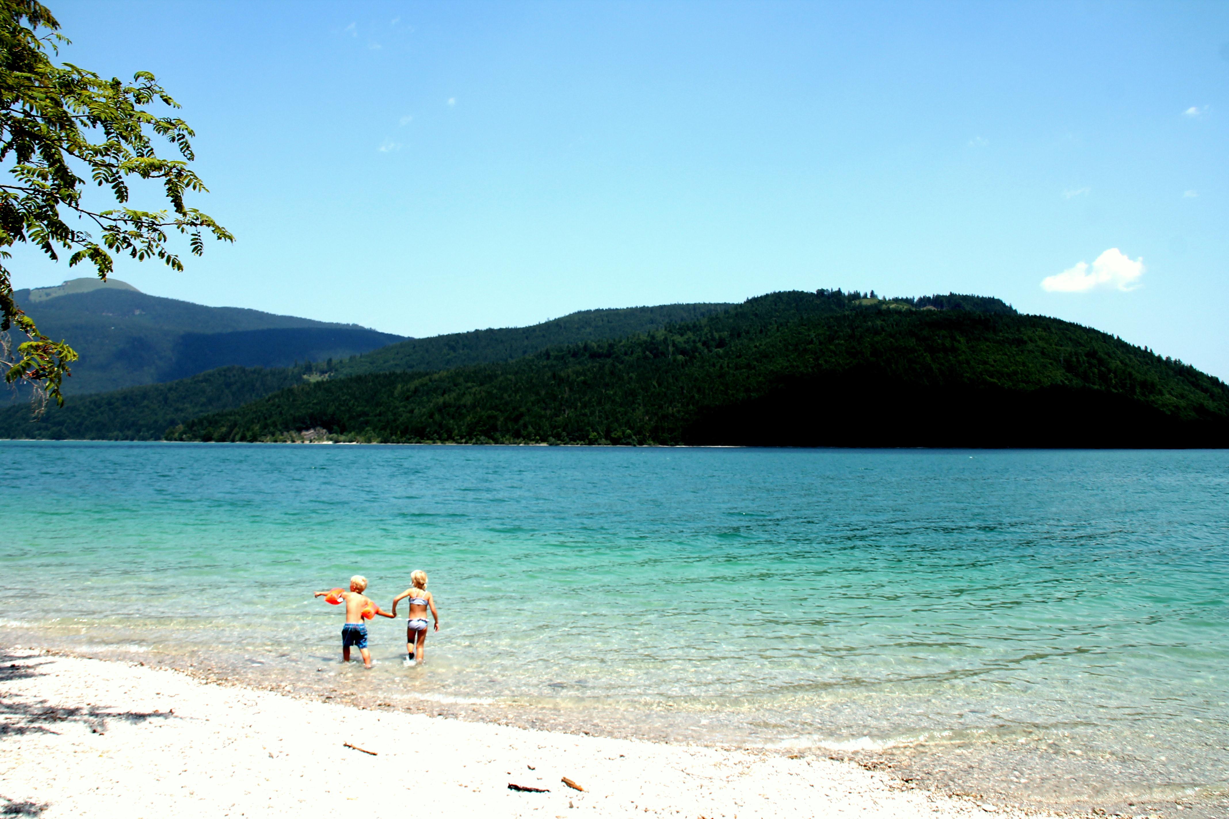 Der Tag am See