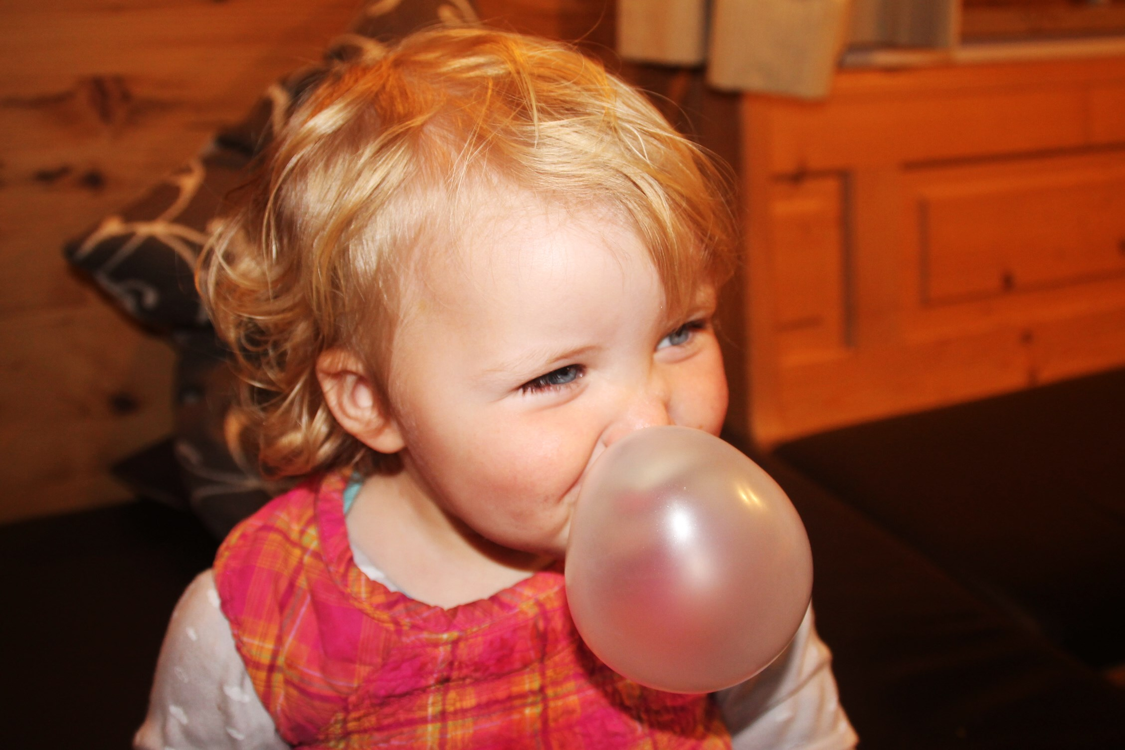 Remember life is all about being happy and creating big pink bubble gum bubbles!