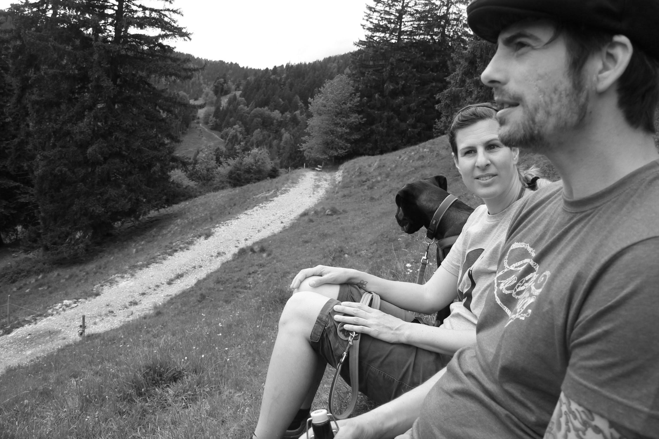 Der bayrische Patriot und sein Engel – Gipfeltreffen am Heigelkopf in Wackersberg