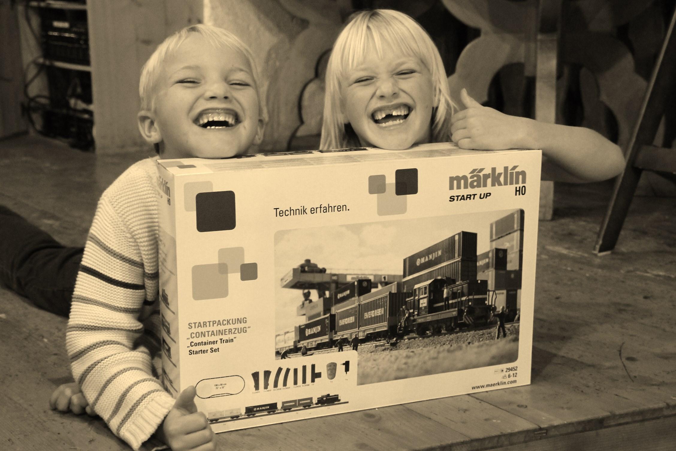 Freie Fahrt für den Start up Containerzug von Märklin und wir sind aus ganzem Herzen dabei