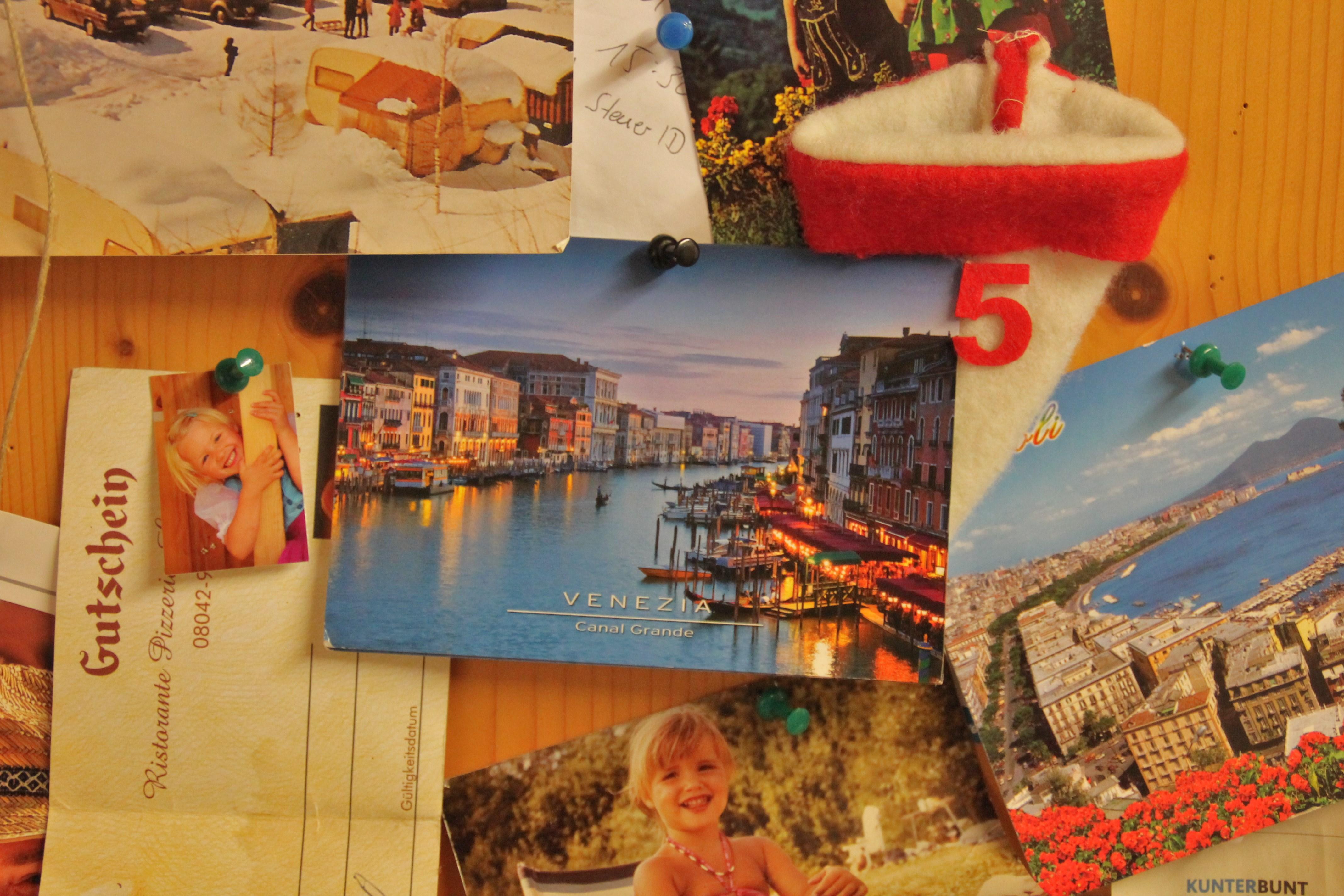 Tür Nummero 5: Postkarten aus Venedig