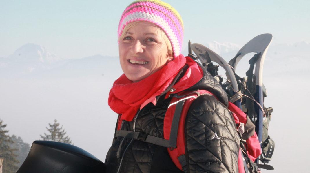 Mit Schneeschuhen über den Seufzerweg zum Brauneck – ein Gipfeltreffen mit meiner Schwester