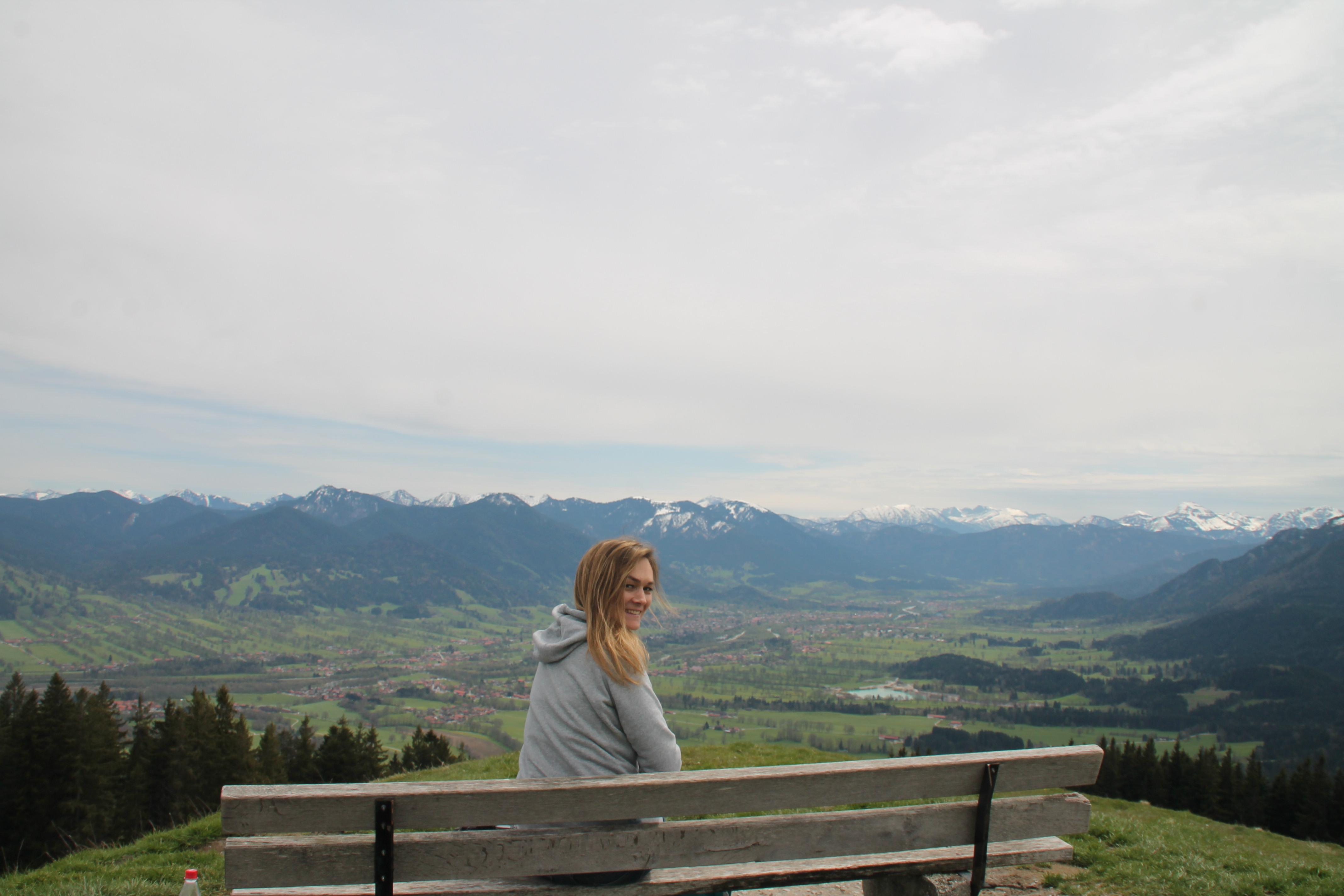 From Munich with love trifft aus ganzem Herzen – Gipfeltreffen auf den Heigelkopf mit Dominika