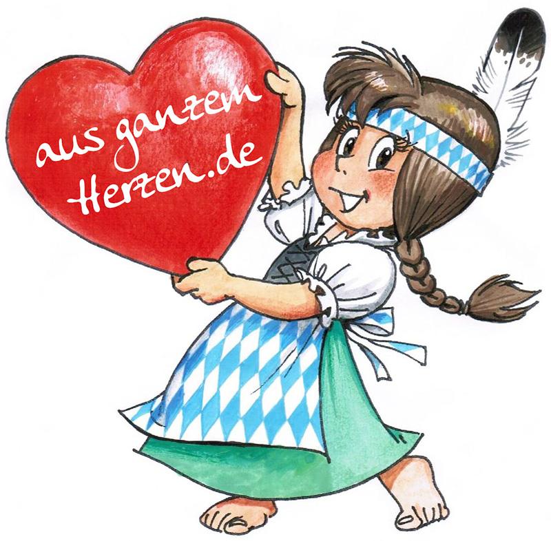 Aus ganzem Herzen